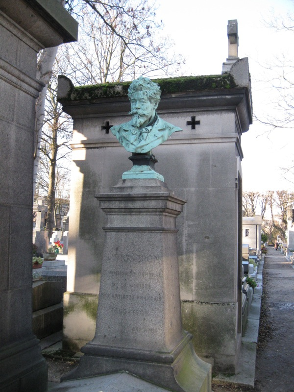 Letter from Paris: Life Lessons in Pre Lachaise Cemetery --- Sion Dayson [Selected by Utne Reader, The Best of the Alternative Press]