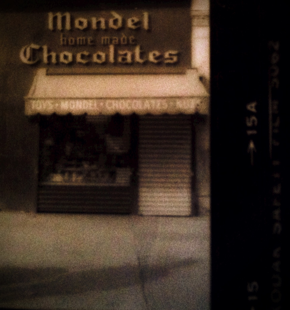 &quot;Wonderland&quot;                  Mondel's Homemade Chocolates, NYC 1985