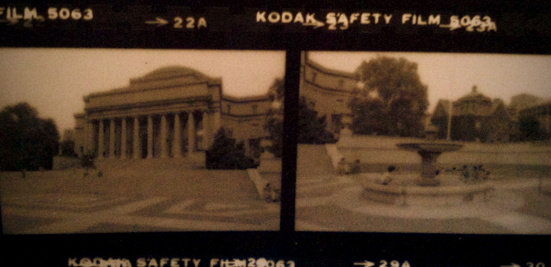  &quot;Borderland&quot; Columbia University, circa 1987