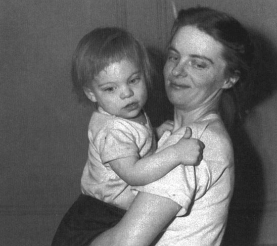 Marie Ponsot Photo 3 - 1952 with Son