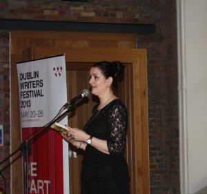 Nuala reading Dub Writers' Fest