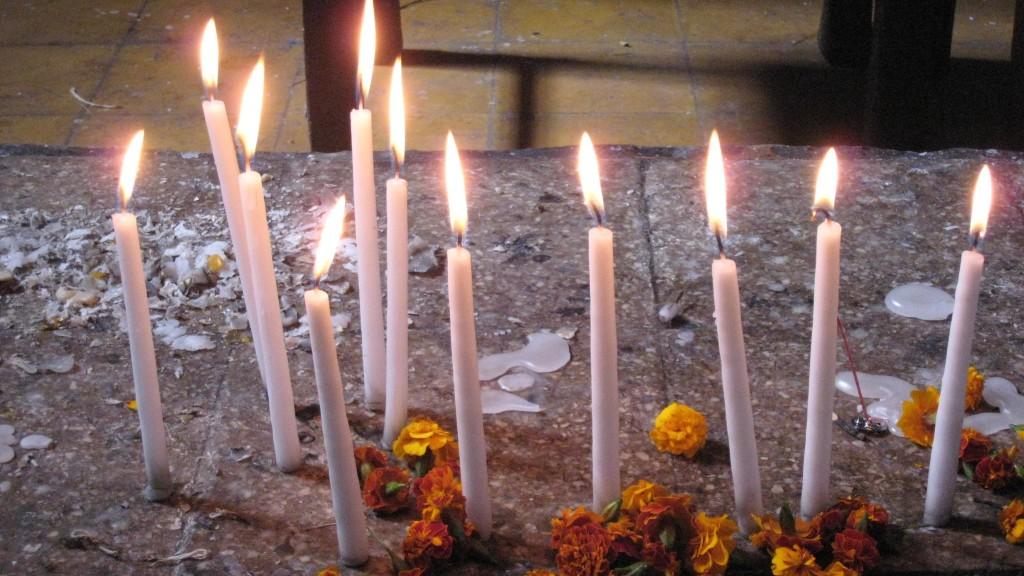 Mayan candles