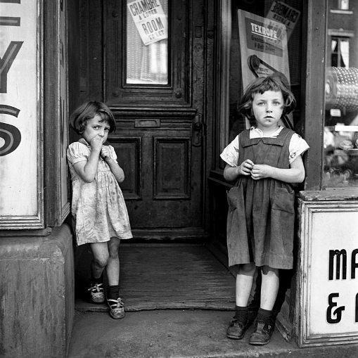 Two Girls, France - Vivian Maier