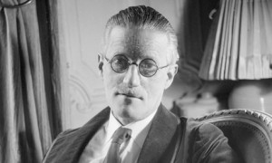 James Joyce pictured in 1934