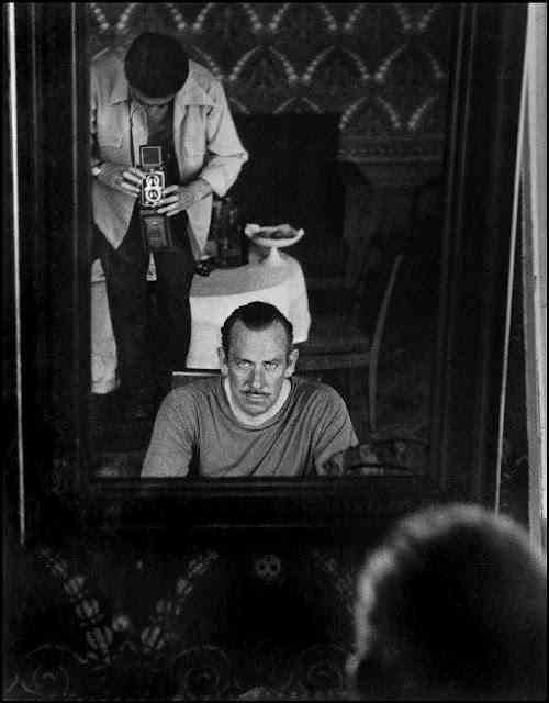 Robert Capa and John Steinbeck