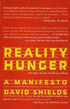 Reality Hunger