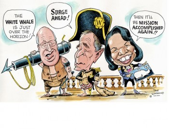 Ahab's white whale has become a popular metaphor.