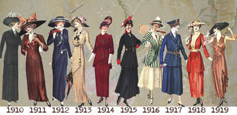 1910 to 1919 fashion 98